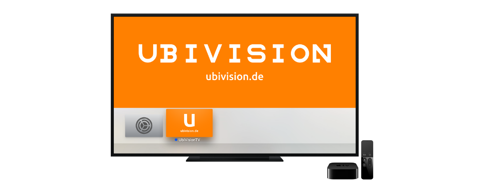 UbiVision am Apple TV
